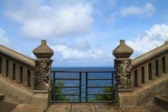 Gates to the ocean Royalty Free Stock Photos
