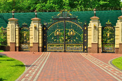 Gates to the park Stock Images
