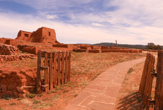 Gates to Pecos Pueblo Royalty Free Stock Photography