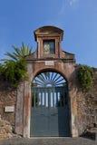 Gates to San Sebastiano al Palatino Stock Photography