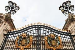 The gates to the square of Buckingham Palace  Ворота к площади Букингемского дворца Stock Photo