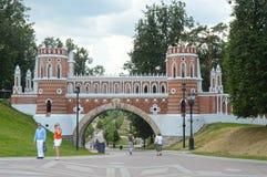 The Gates  Tsaritsyno July Stock Photos