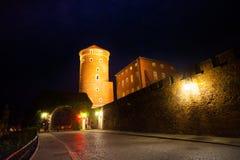 Gates of wawel Royal Castle in Krakow, Poland Stock Image
