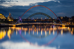 Gateshead Evening Royalty Free Stock Photo
