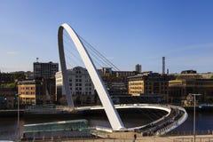 Gateshead milleniumbro Royaltyfria Foton