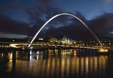 Gateshead Millennium Bridge Royalty Free Stock Image