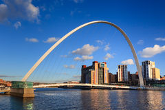 Gateshead Millennium Bridge Stock Photography