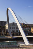 Gateshead Millennium Bridge Stock Photo