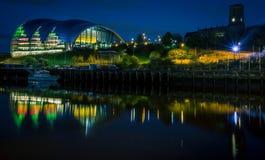 Gateshead muzyki miejsce wydarzenia zdjęcia royalty free