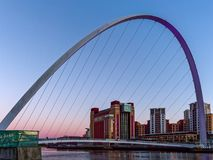 GATESHEAD, TYNE ET WEAR/UK - 20 JANVIER : Vue du Millenniu Images stock