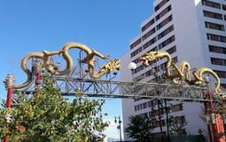 Gateway à Chinatown Photo libre de droits