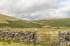 Gateway aan Dartmoor Royalty-vrije Stock Afbeeldingen