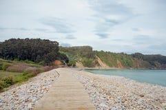 Gateway aan de geheime Horizontale strandsnackbar - Stock Afbeelding