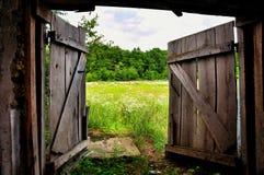 Gateway aan de Zomer Stock Foto's