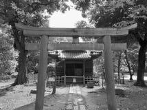 Gateway aan het heiligdom Royalty-vrije Stock Foto's