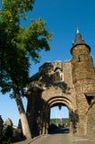 Gateway aan het kasteel Stock Afbeelding