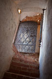 Gateway aan het middeleeuwse kasteel Royalty-vrije Stock Afbeeldingen