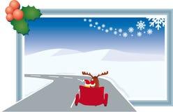 Gateway aan Kerstmistijd Stock Foto