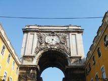 Gateway aan Praca do Comercio Stock Foto
