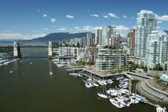 Gateway aan Vancouver Royalty-vrije Stock Afbeeldingen