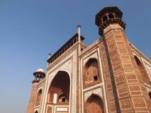 Gateway al Taj Mahal Imagen de archivo