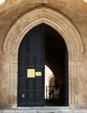 Gateway alla vecchia casa urbana Immagine Stock