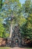 Gateway Angkor Thom Cambodia Stock Image