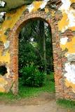 Gateway antiguo Fotografía de archivo libre de regalías