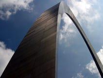 Gateway arch. Jefferson Memorial St. Louis Gateway Arch Royalty Free Stock Photography