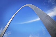 Gateway arch Royalty Free Stock Photo