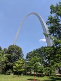 Gateway Arch royalty free stock image