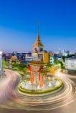 The Gateway Arch (Odeon Circle) landmark. Of Bangkok Chinatown, Thailand Royalty Free Stock Photo