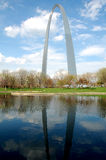 Gateway Arch in St. Louis Royalty Free Stock Photos