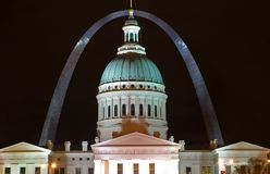Gateway Arch St. Louis Royalty Free Stock Image