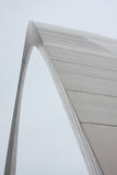 Gateway Arch in St. Louis Missouri. Close detail of the Gateway Arch in St. Louis, Missouri Stock Photo