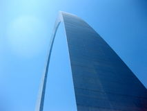 Gateway arch in St. Louis Missouri Stock Photo