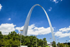 The Gateway Arch. In St. Louis Missouri Stock Images