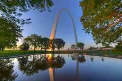 Gateway Arch. The Gateway Arch in St. Louis, Missouri Stock Image
