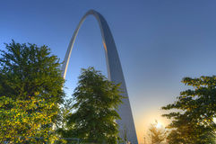 Gateway Arch. The Gateway Arch in St. Louis, Missouri Royalty Free Stock Image