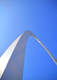 Gateway Arch. The Gateway Arch in St. Louis, MO Stock Photo