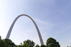 The Gateway Arch Royalty Free Stock Photos