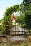 Gateway arqueado do ferro Imagem de Stock Royalty Free