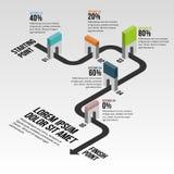 Gateway Block Progress Infographic. Vector illustration of gateway block progress infographic design element vector illustration