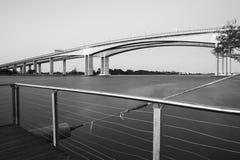 Gateway Bridge Motorway in Brisbane Royalty Free Stock Photography