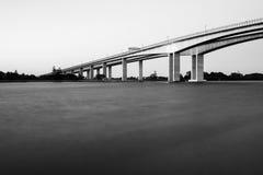 Gateway Bridge Motorway in Brisbane Stock Photography