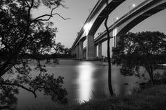 Gateway Bridge Motorway in Brisbane Royalty Free Stock Images