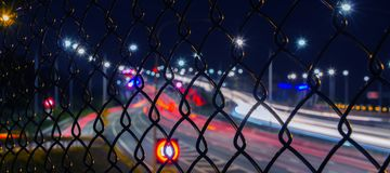 Gateway Bridge Motorway in Brisbane Stock Photo