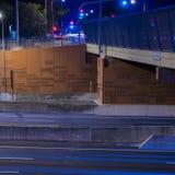 Gateway Bridge Motorway in Brisbane. Gateway Bridge Sir Leo Hielscher Bridges in Brisbane, Queensland, Australia Stock Photos