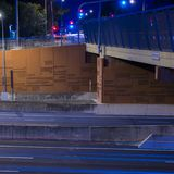 Gateway Bridge Motorway in Brisbane Stock Photos