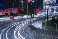 Gateway Bridge Motorway in Brisbane. Gateway Bridge Sir Leo Hielscher Bridges in Brisbane, Queensland, Australia Stock Photo